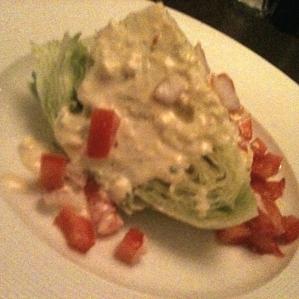 Wedge Salad - Kaiser Grille - Palm Springs, Palm Springs, CA