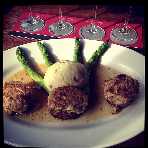 Pork medallions @ Cooper's Hawk Winery & Restaurant