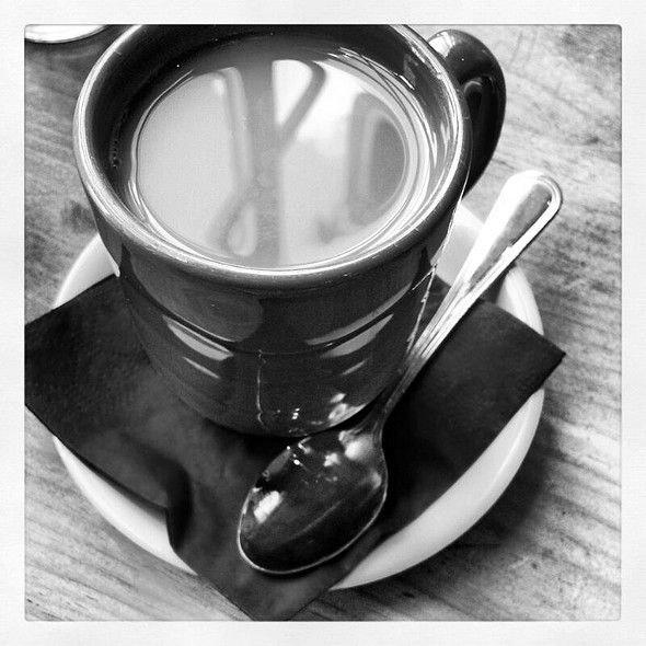 Hot Coffee With Cream - Mas Mexicali Cantina - West Chester, West Chester, PA
