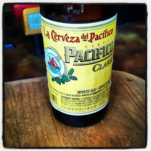 Pacifico Clara Beer - Mas Mexicali Cantina - West Chester, West Chester, PA