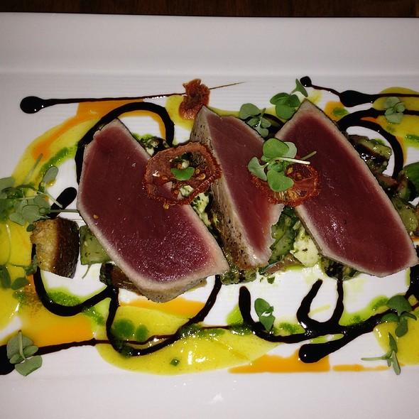 Seared Yellowfin Tuna - Dune, Nantucket