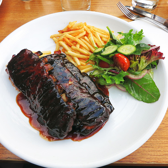 Full Rack Of Lamb Ribs @ Manly Grill