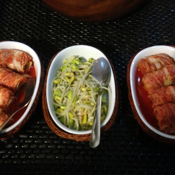 Kimchi And Bean Sprouts