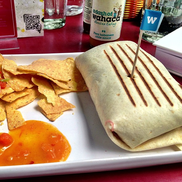 Pork Burrito @ Wahaca's Southbank Experiment