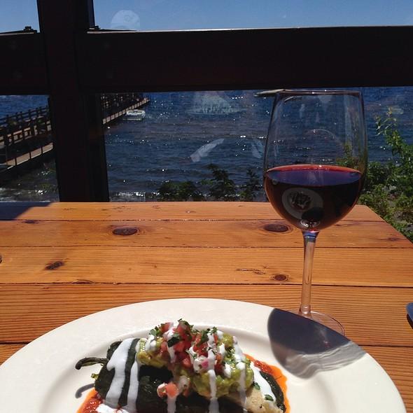 Crab Relleno - Gar Woods Grill and Pier Restaurant, Carnelian Bay, CA