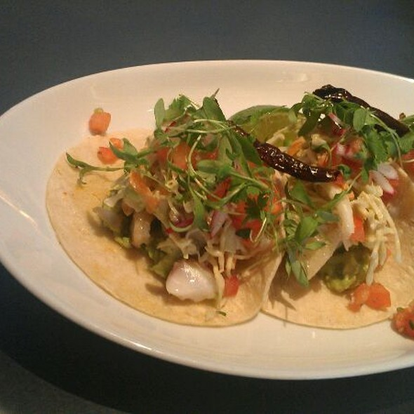 fish tacos - Clyde Frazier's Wine and Dine, New York, NY