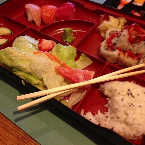 Bento @ Miraku Sushi & Japanese Cuisine