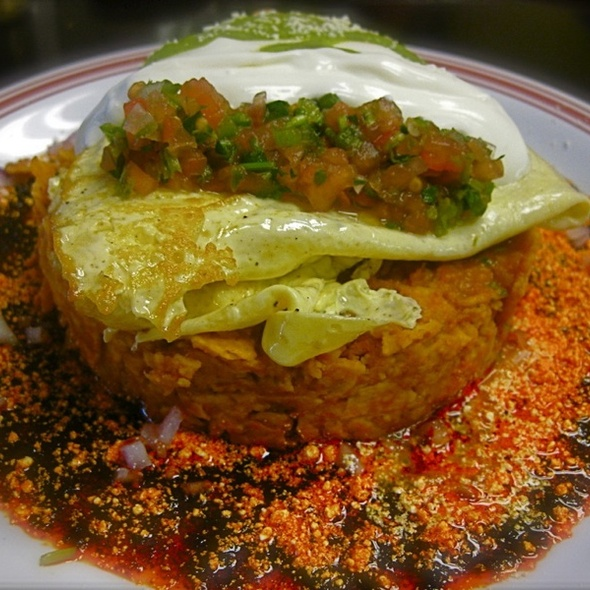 Chilaquiles @ Anepalco's Cafe