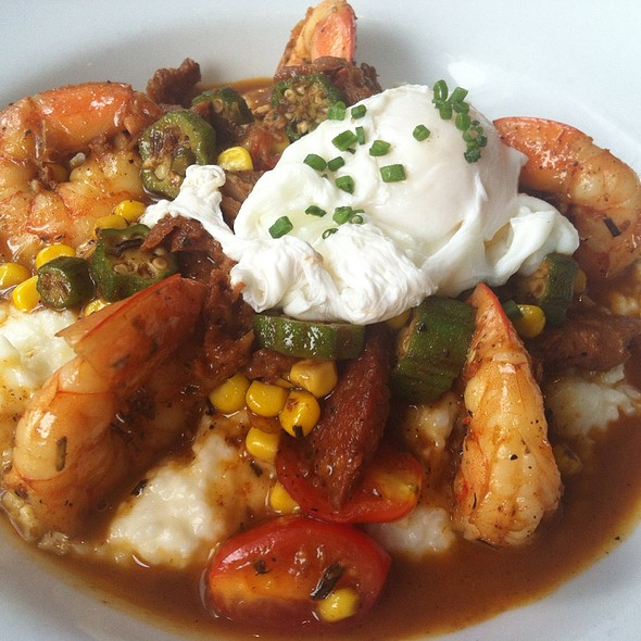 Shrimp & Grits - Old Vinings Inn, Atlanta, GA