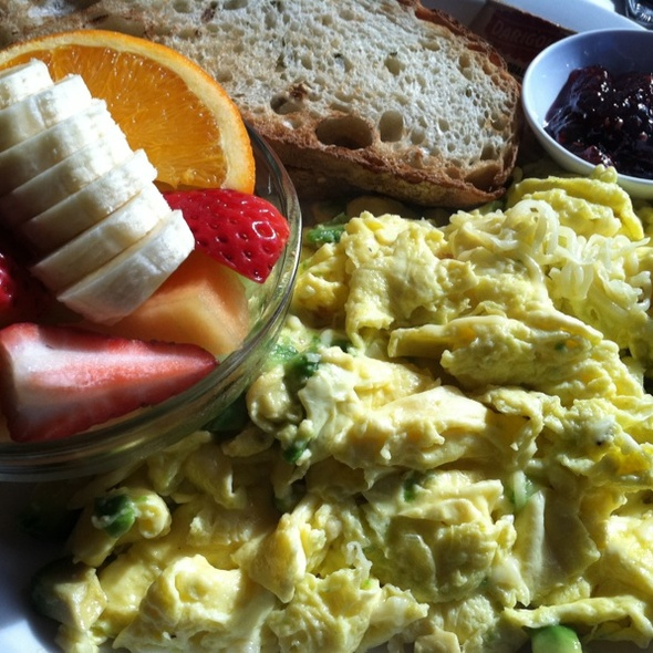 Avocado And Cheese Eggs @ Chloe's Cafe