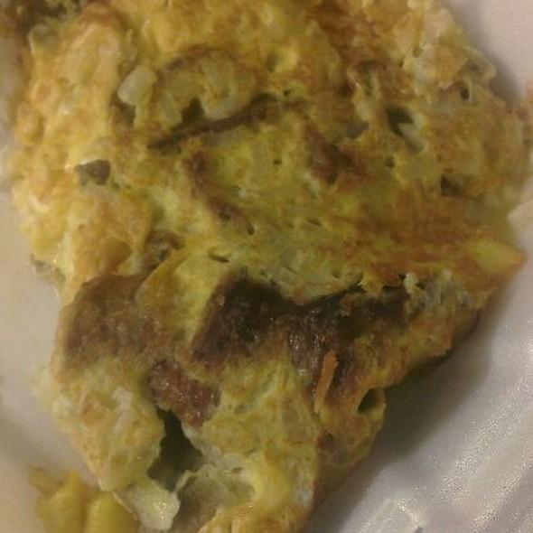 Greek Omelette With Gyros @ Showmars Restaurant