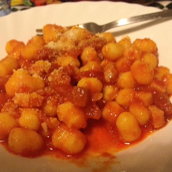 Gnocchi Al Sugo E Mozzarella @ Nicola's Cuisine