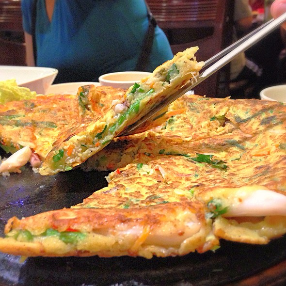 Seafood Pancake - Haemul Pajeon