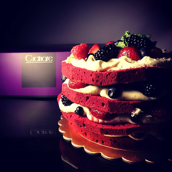 Red Velvet Cake @ Cucinare Bakery