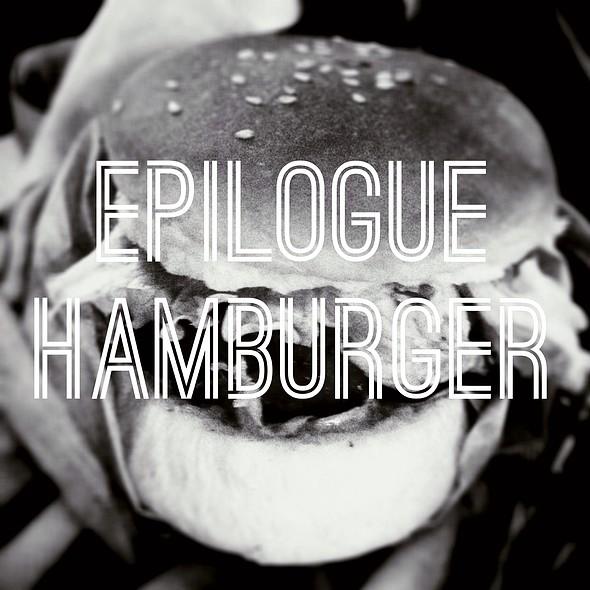 Epilogue Hamburger @ Epilogue