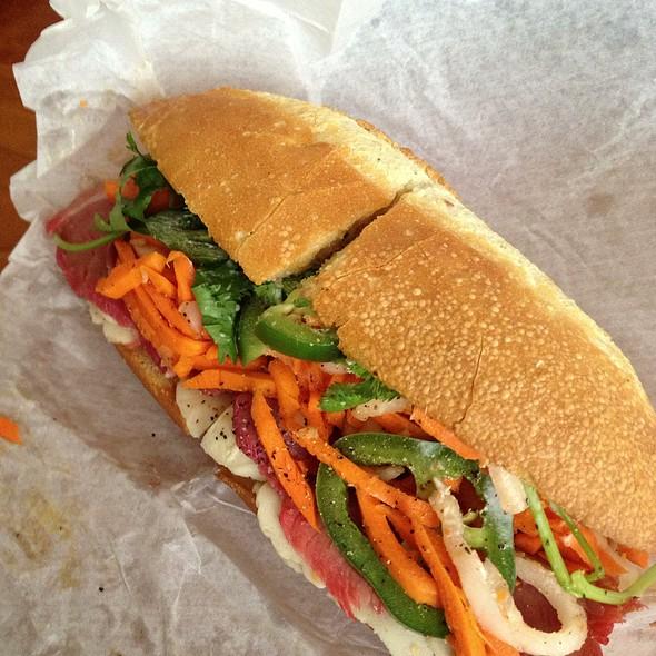 Special Combination Banh Mi Vietnamese Sandwich @ Dinosaurs