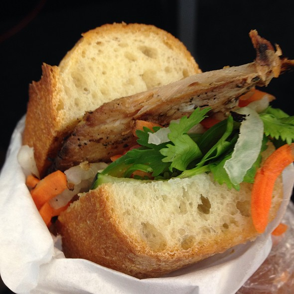 Chicken Banh M @ Royal Blue Grocery