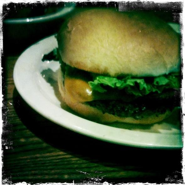 Bacon Cheeseburger @ Cracker Barrel Old Country Str