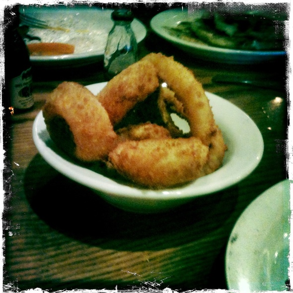 Onion Rings @ Cracker Barrel Old Country Str