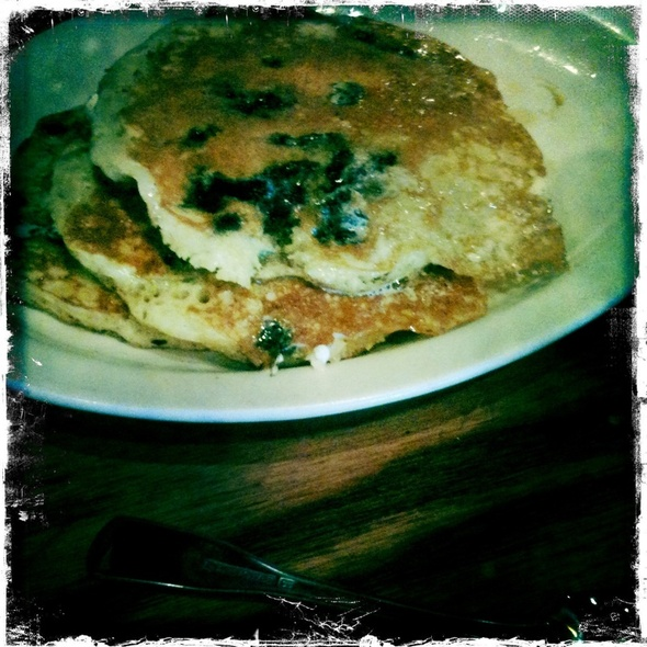 Blueberry Pancakes @ Cracker Barrel Old Country Str