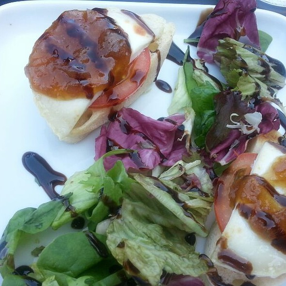 goat cheese with salad @ Prezzo Resturants