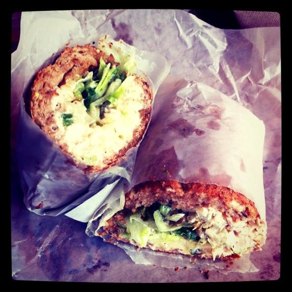 Tuna w/ hot peppers #nomnom spotting @ Potbelly Sandwich Shop