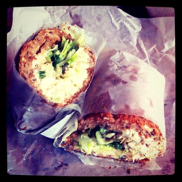 Tuna w/ hot peppers #nomnom spotting @ Potbelly Sandwich Shop