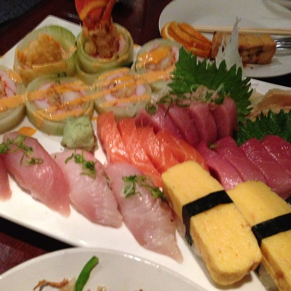 Assorted Sushi And Sashimi