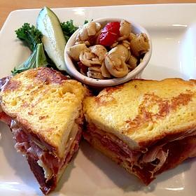 Monte Cristo Sandwich - Croissants Bistro and Bakery, Myrtle Beach, SC