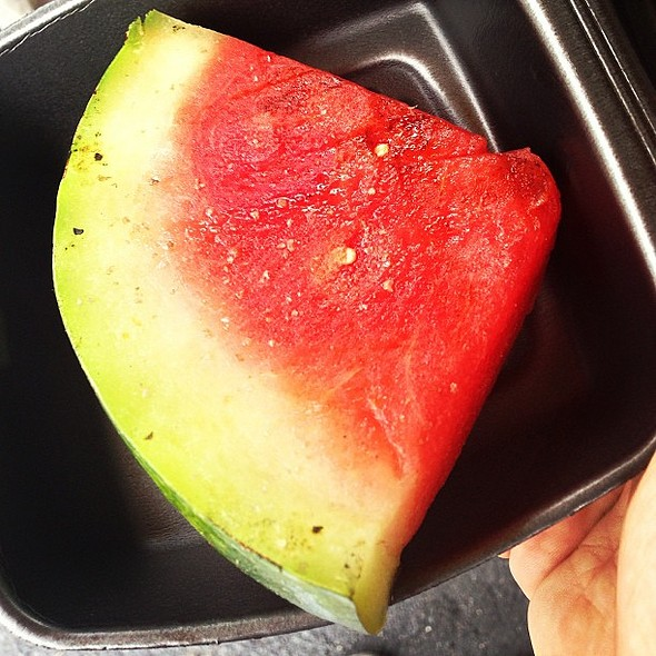 Grilled watermelon from NYO @ D1 Sports Training
