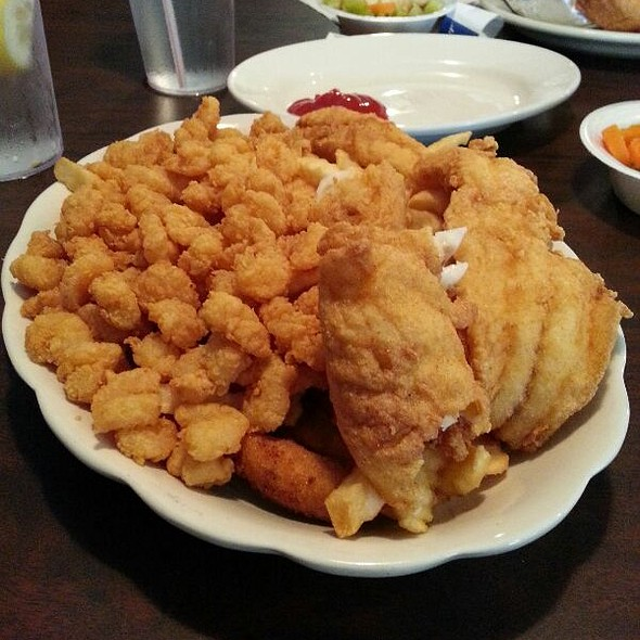 Fried Fish And Shrimp @ Mayflower Seafood