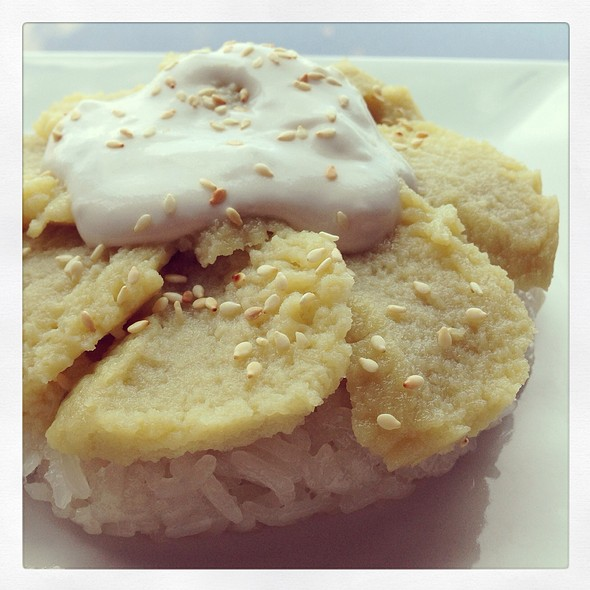Sticky Rice With Bean Curd @ Thai2Go
