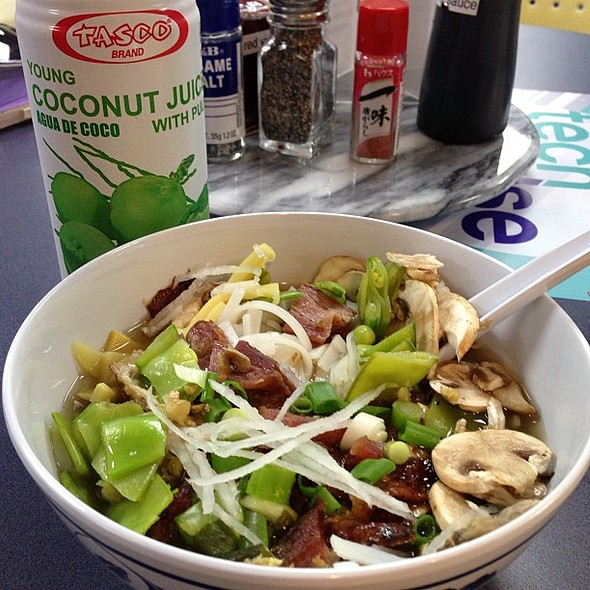 My first meal at our Asian noodle bar! @ Yahoo! - Building F