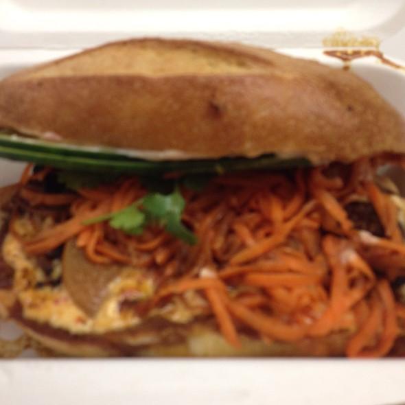 Pork Belly (Buta no Kaku Ni) @ Num Pang Sandwich Shop