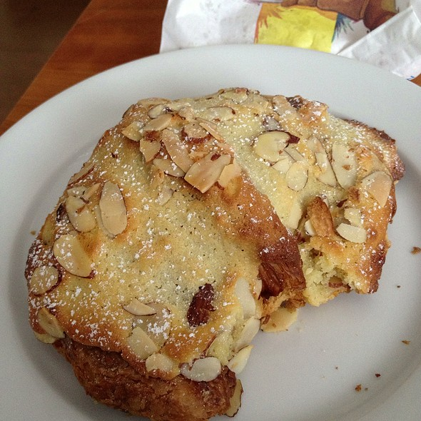 Almond croissant @ Thorough Bread and Pastry