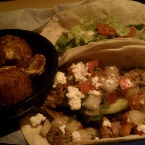 Southern Fried & Grilled Lamb Tacos