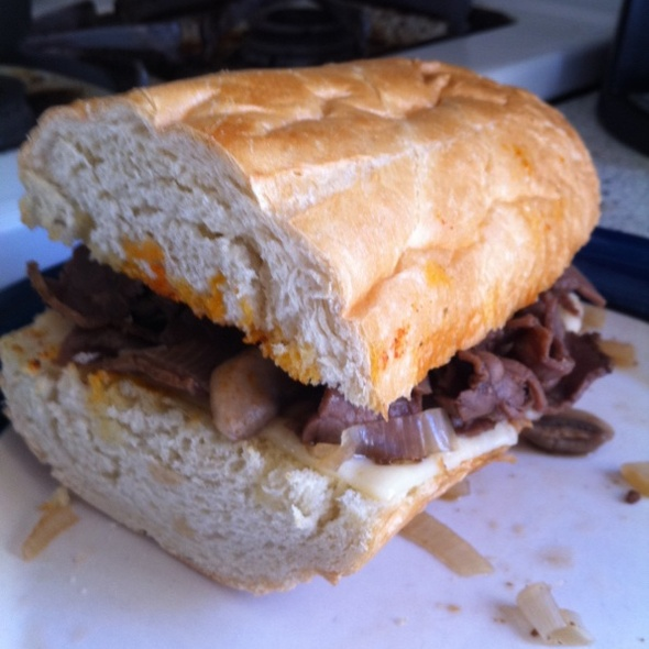 Hot Roast Beef Sandwich @ My House