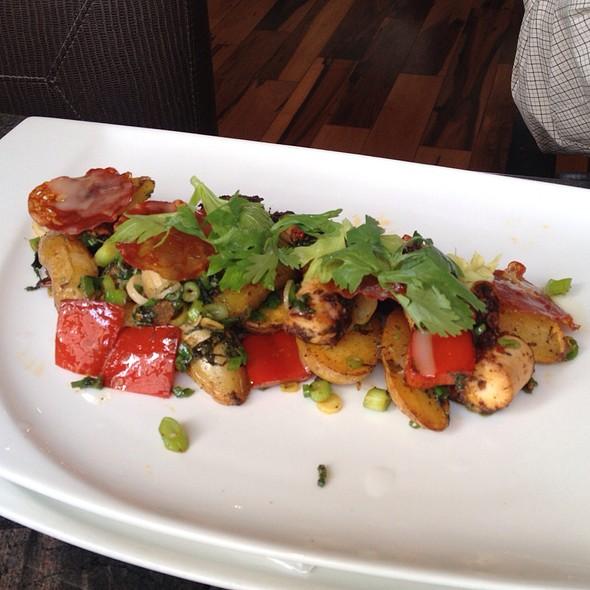 Octopus Salad - Andrei's Conscious Cuisine & Cocktails, Irvine, CA