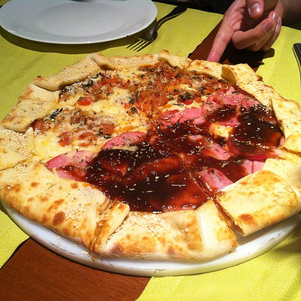 Pizza @ Família Del Mare