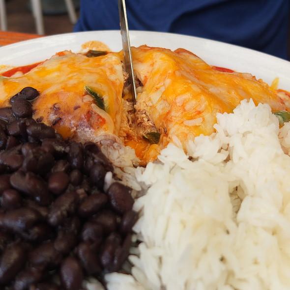 Chicken Crepe @ Neide's Salsa & Samba