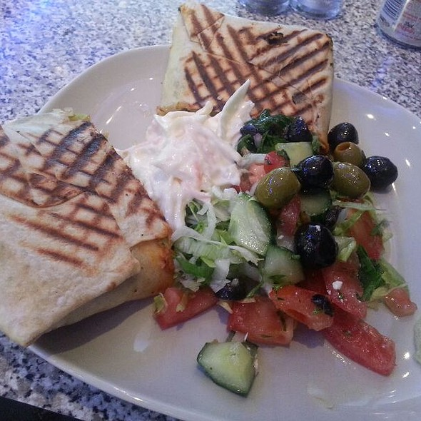 Falafel and Salad in Pitta Bread @ Panini House