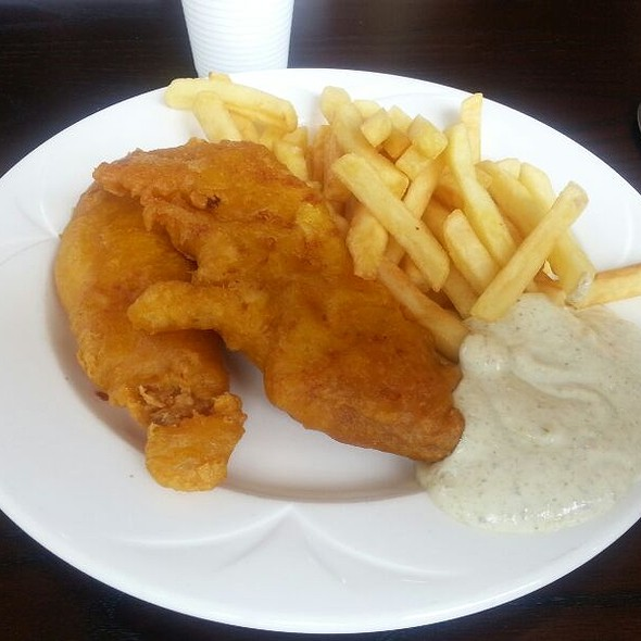 Fish and Chips @ University of Bath