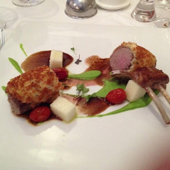 Rack of Lamb - Villa Mozart Restaurant, Fairfax, VA