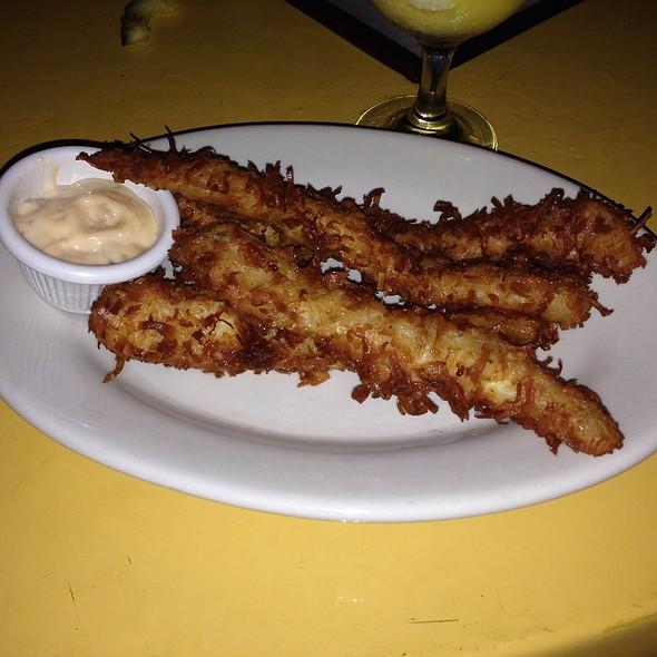 Ginger Bay Coconut Chicken Fingers @ Ginger Bay Cafe