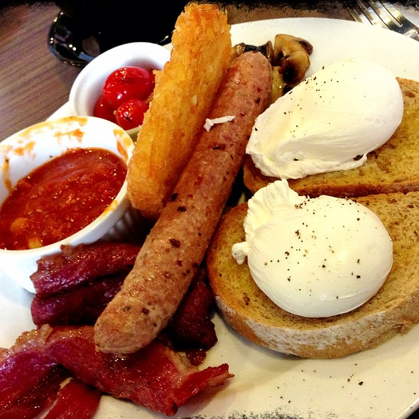 The Meaty Big Breaky @ Mr. & Ms. Cafe