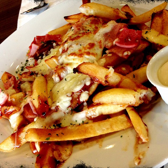 Loaded French Fries @ Mr. & Ms. Cafe