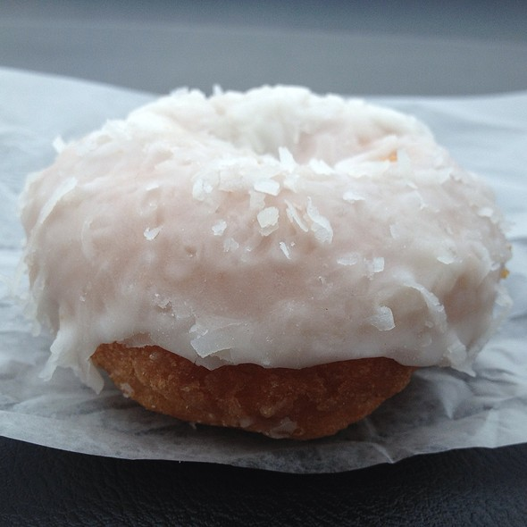 Coconut Donut @ Better-Maid Donut Co