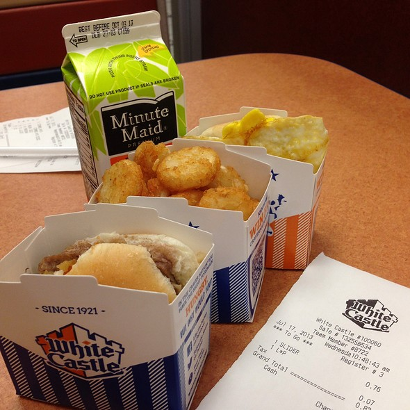 Sliders @ White Castle