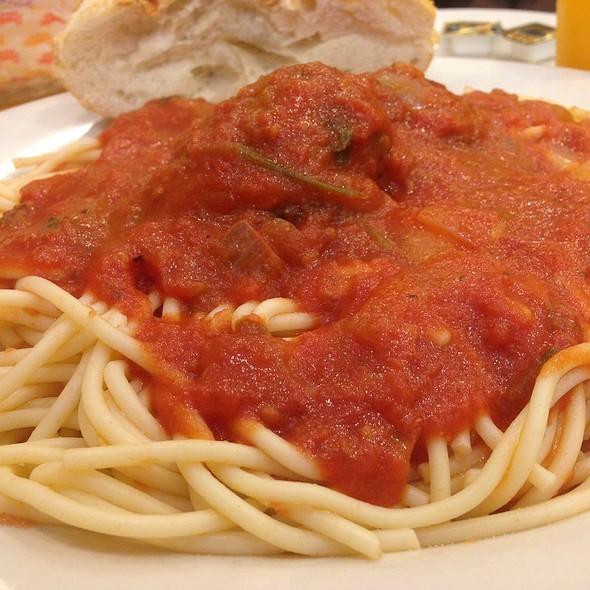 Spaghetti and Meatballs @ Carmine's Restaurant