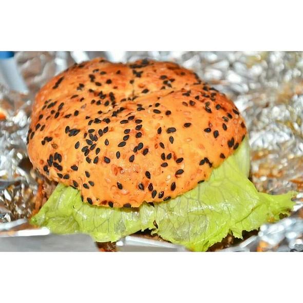 Double Burger @ Army Navy Burger + Burrito